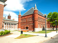 Tolley humanities building the on the campus of syracuse university in syracuse new york Stock Images
