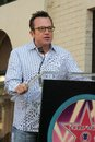 Tom arnold at the ceremony posthumously honoring chris farley with a star on the hollywood walk of fame hollywood boulevard Royalty Free Stock Photography
