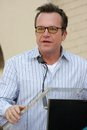 Tom arnold at the ceremony posthumously honoring chris farley with a star on the hollywood walk of fame hollywood boulevard Stock Photography
