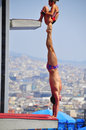 Tom daley Photographie stock libre de droits