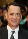 Tom hanks arrive pour la première de  larry crowne  chez westfield bush du berger londres image par gorge featureflash d Photo stock