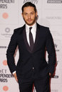 Tom hardy arriving for the moet british independent film awards at old billingsgate london picture by steve vas featureflash Royalty Free Stock Image