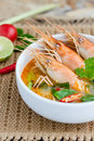Tom kung yum Obraz Royalty Free