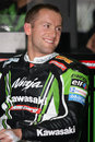 Tom Sykes - Kawasaki ZX-10R Racing Team Stock Image