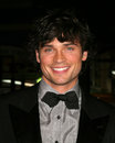 Tom welling kathy hutchins hutchins photo premiere of oceans los angeles ca december Stock Photography