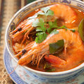Tom yam kung thai cuisine Royalty Free Stock Photos