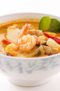 Tom yum polewka Obraz Royalty Free