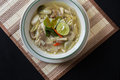 Tom yum thai food famous spicy soup Royalty Free Stock Photography