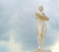Tomas Stamford Raffles monument Royalty Free Stock Photo