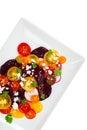 Tomato Beet Salad Royalty Free Stock Photo