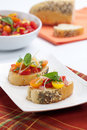 Tomato Bruschetta Royalty Free Stock Photo