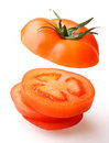 Tomato cut Stock Photos