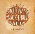 Tomato cutting scheme craft