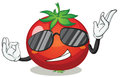 Tomato illustration of a on a white background Stock Photos