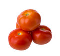 Tomato isolated on white background Stock Image