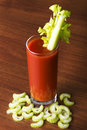 Tomato juice, bloody mary Royalty Free Stock Photo