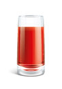 Tomato juice illustration Royalty Free Stock Photo