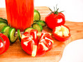 Tomato juice refreshing drink healthy drink summer drinks