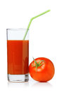 Tomato juices Stock Photo