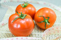 Tomato with measuring tape Royalty Free Stock Photo