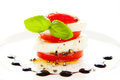 Tomato and mozzarella Royalty Free Stock Photo