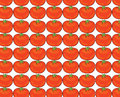 Tomato pattern illustration Royalty Free Stock Photo