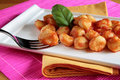 Tomato sauce gnocchi Royalty Free Stock Photo