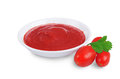 Tomato sauce ketchup Stock Photos
