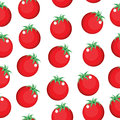 Tomato seamless pattern texture. Tomato background wallpaper. Vector illustration Royalty Free Stock Photo