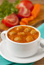 Tomato soup Stock Images