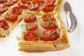Tomato Tart Royalty Free Stock Photos