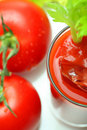 Tomatoe juice Royalty Free Stock Image