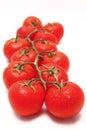 Vine tomato tomatoes red Royalty Free Stock Photo
