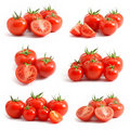 Tomatoes collection Stock Photography