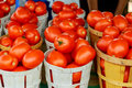 Tomatoes in the Farmer& x27;s Market Royalty Free Stock Photo
