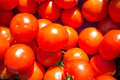 Tomatoes full frame take of fresh on a market stall Stock Images
