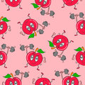 Tomatoes pattern background style design