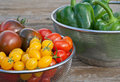 Tomatoes and pepper Royalty Free Stock Photo