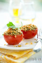 Tomatoes provencal style Royalty Free Stock Photo