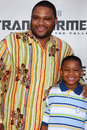 Tombée anthony anderson Images stock