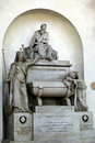 Tomb of dante alighieri in santa croce church basilica di santa croce florence italy Royalty Free Stock Photography