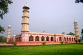 Tomb emperor jahangir build th century his death side view tomb Stock Image