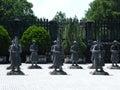 Tomb of Emperor Khai Dinh, Hue, Vietnam Royalty Free Stock Image