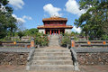 Tomb hue vietnam of minh mang of the nguygen dynasty hué Royalty Free Stock Images