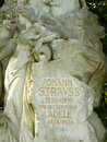 Tomb of Johann Strauss Son Royalty Free Stock Photo