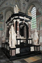 Tomb of King Frederick II in Rockilde cathedral Stock Photos