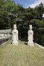 Tomb of king kongmin kaesong dprk hyonjongrung royal royal tombs the koryo dynasty Stock Images