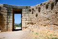 Tomb of the Lion, Mycenae Royalty Free Stock Image