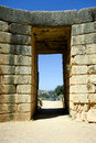 Tomb of the Lion, Mycenae Royalty Free Stock Photography