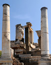 Tomb of Memmius in Ephesus Stock Photo